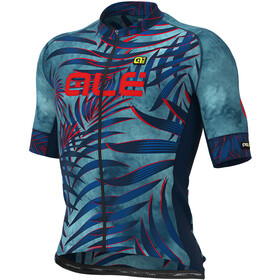 Alé Cycling Graphics PRR Sunset Maillot Manga Corta Hombre, petroleum/blue